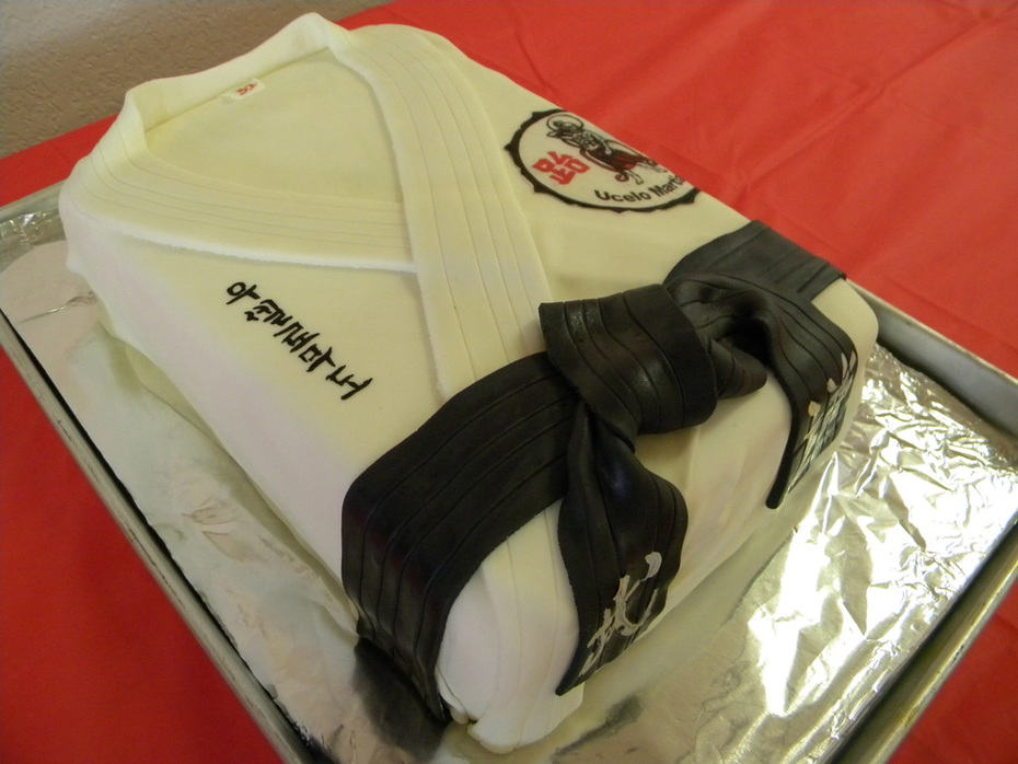 Karate Cake 002