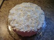Cabbage Rose Birthday Cake