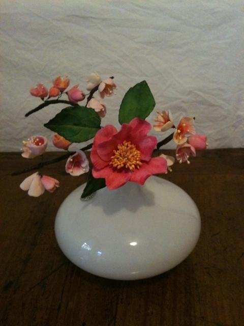Cherry Blossom and Camelia