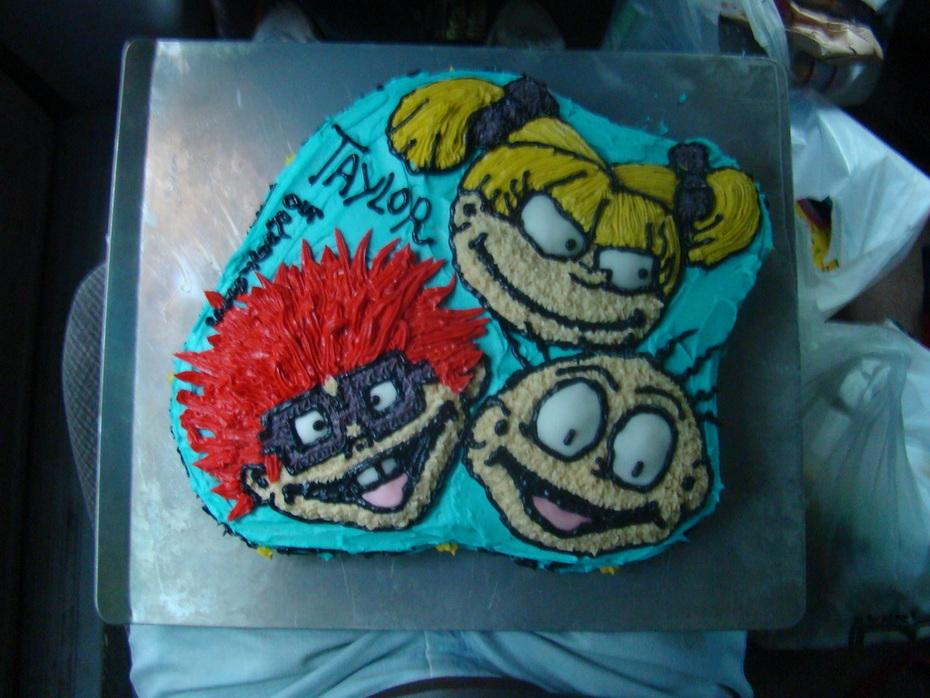 Rugrats Birthday Cake