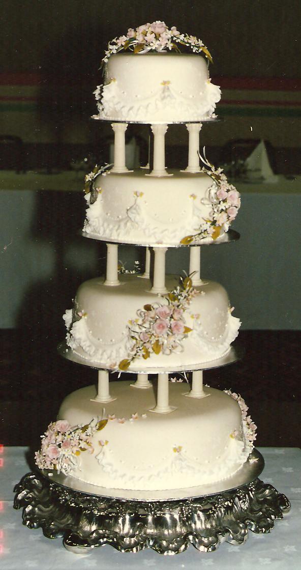 Anna Maries Wedding Cake