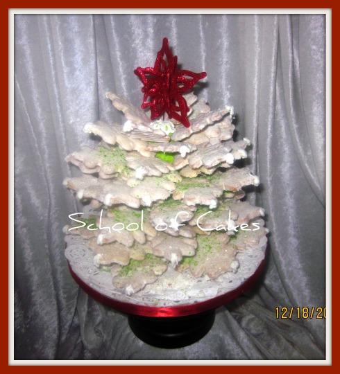 Christmas Cookie Tree 1