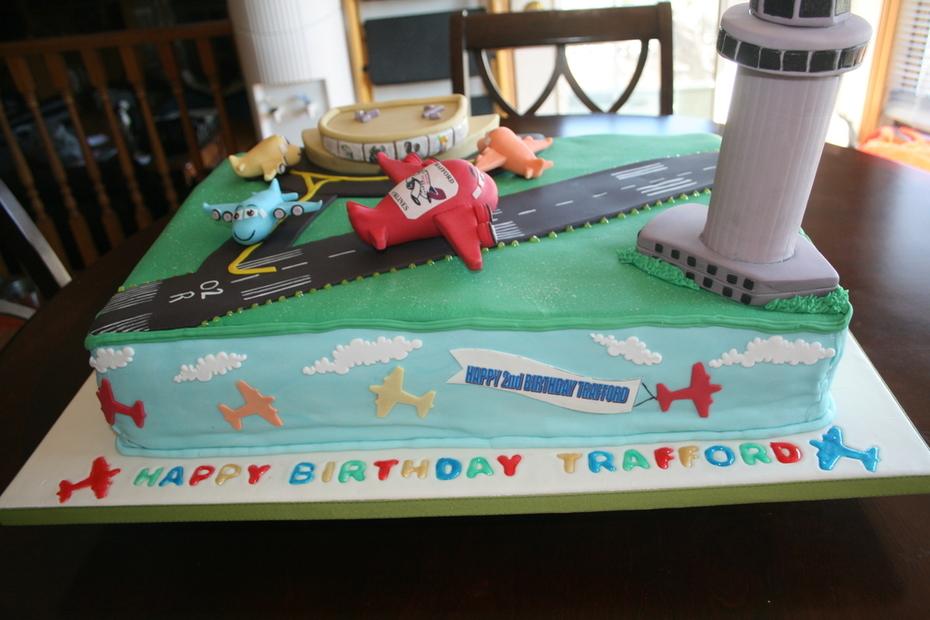 Slap runway Birthday Cake