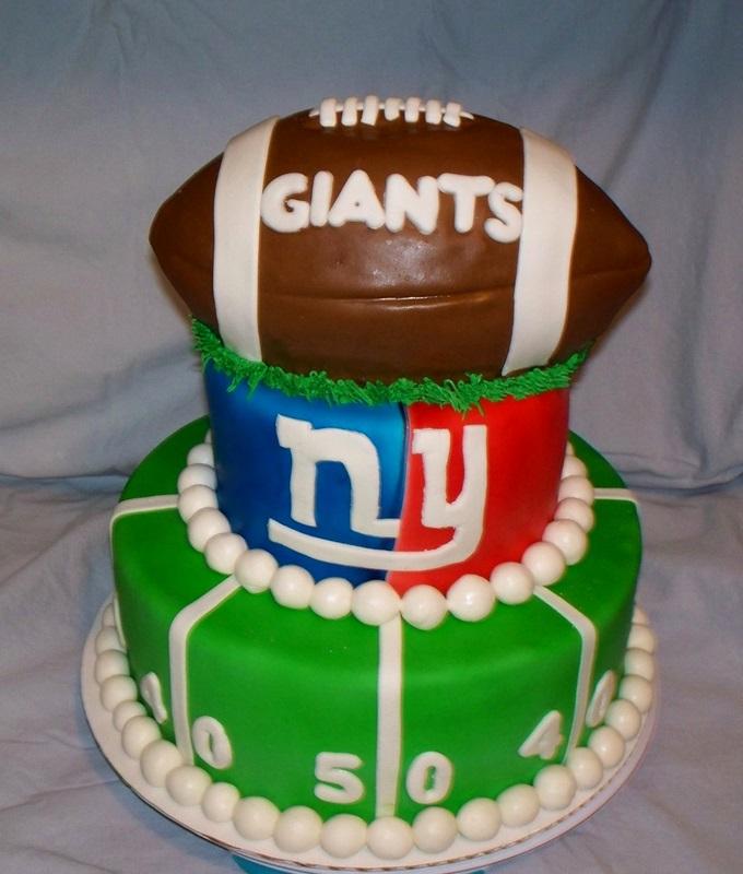 Remarkable New York Giants Birthday Cake Cake Decorating Community Cakes Funny Birthday Cards Online Inifofree Goldxyz