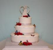 Cut-N-Frost Wedding Cake
