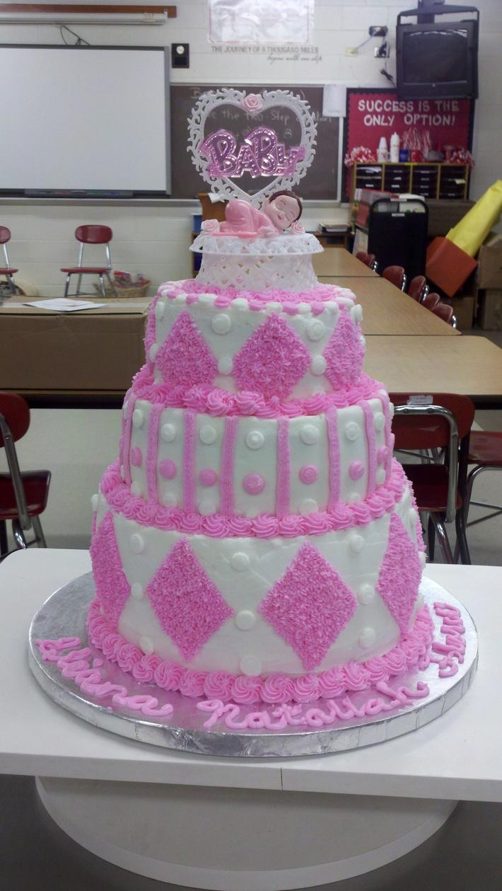 Lugo Baby Shower Cake