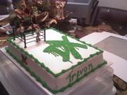 Trevon's Birthday  cake