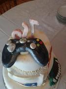 Xbox controller cake topper