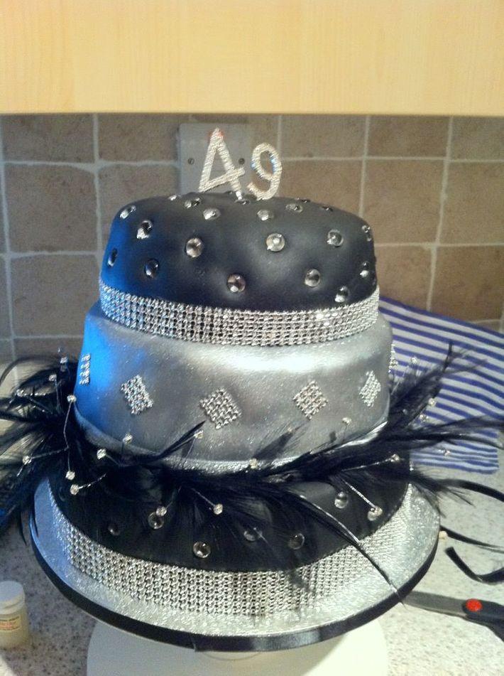 Bling birthday cake