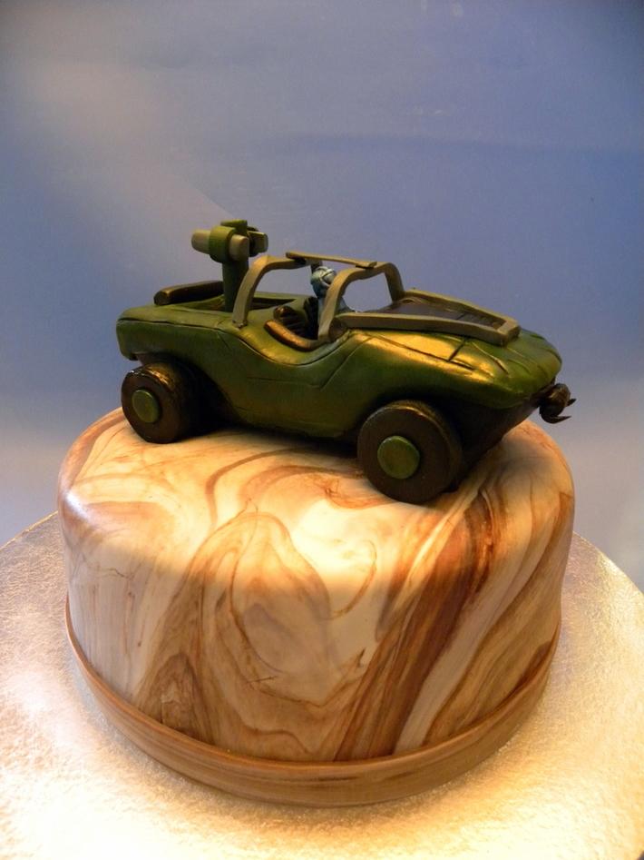 halo warthog cake