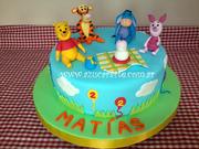 Winnie Pooh Dia Campo - Winnie Pooh and friends