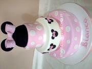 Minnie Orejitas - Minnie Mouse Cake