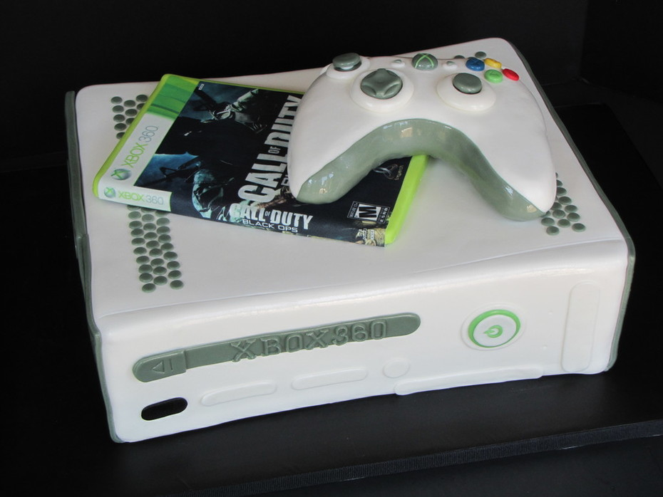 XBOX 360 Groom's Cake