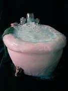 Ever wanna just bathe in cake?