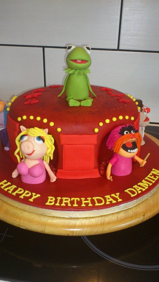 Muppets Birthday Cake