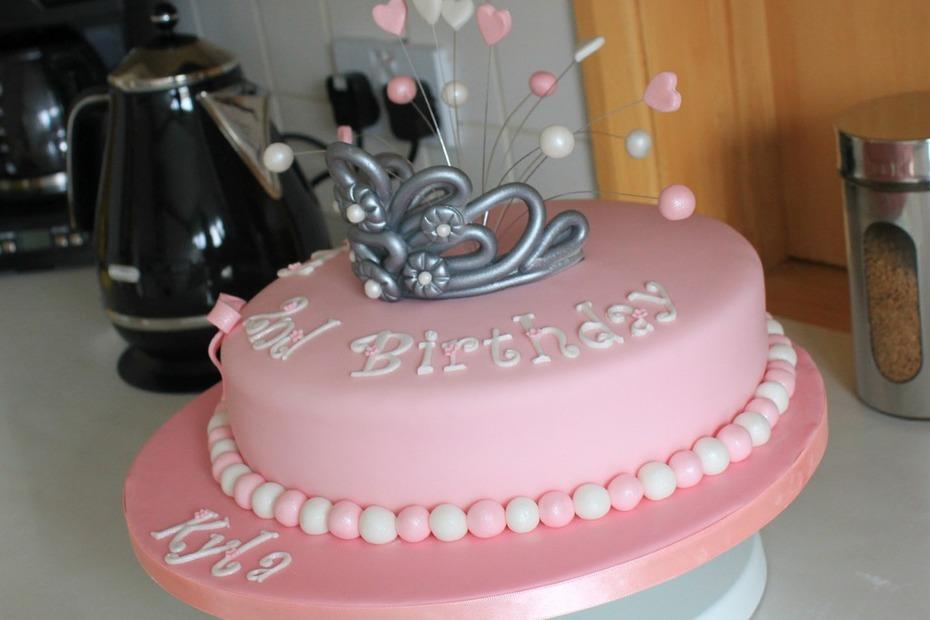 Princess Tiara Birthday Cake