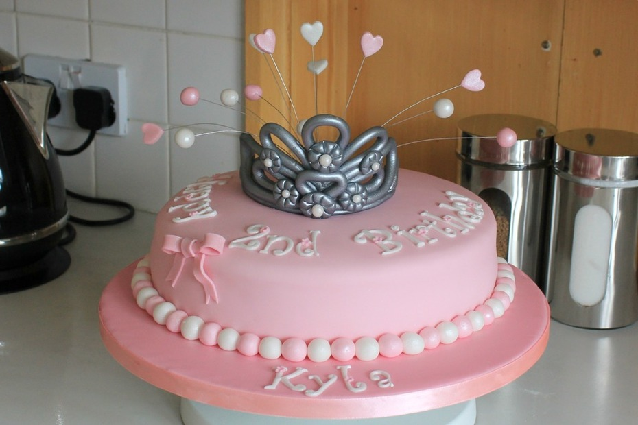 Sensational Princess Tiara Birthday Cake Cake Decorating Community Cakes Funny Birthday Cards Online Amentibdeldamsfinfo