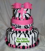 Super girlie confirmation cake