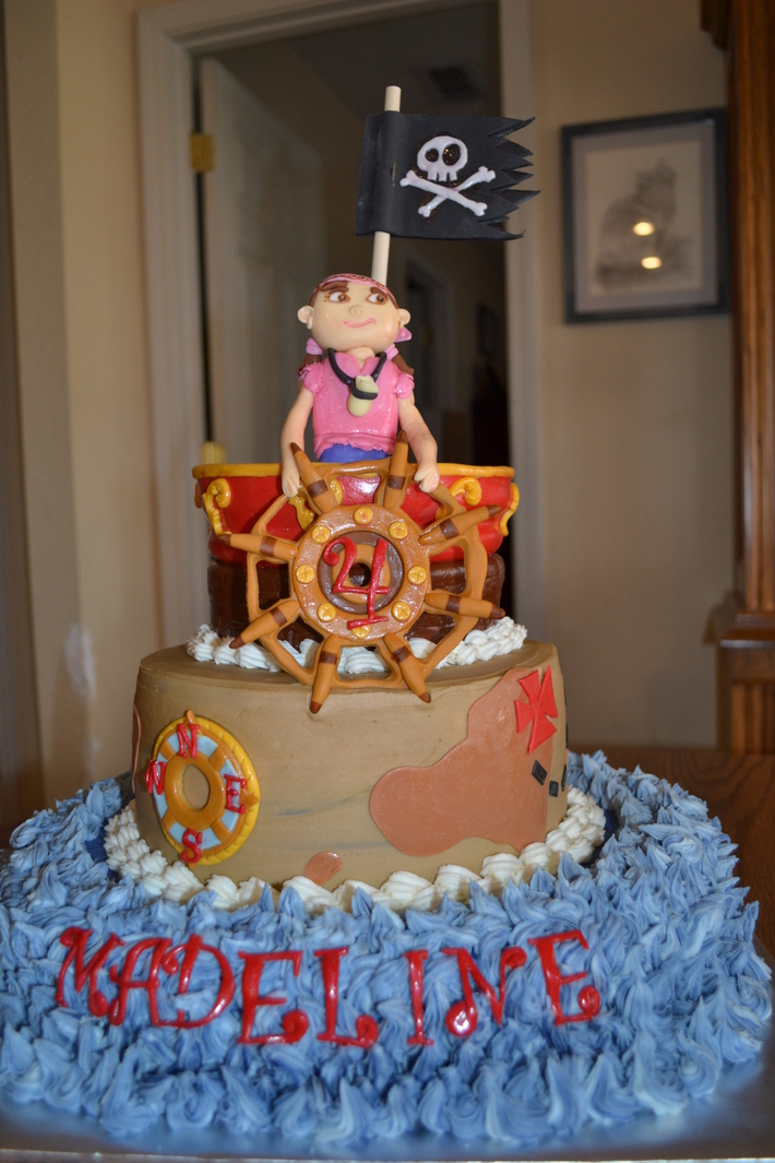Prime Izzy From Disneys Jake And The Neverland Pirates Birthday Cake Funny Birthday Cards Online Inifodamsfinfo