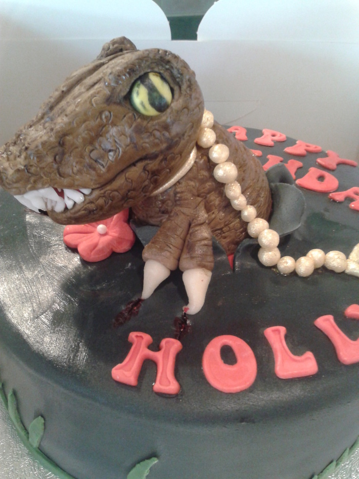 Magnificent T Rex Birthday Cake 1 Cake Decorating Community Cakes We Bake Personalised Birthday Cards Paralily Jamesorg