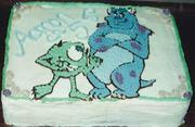 Monsters Inc Cake