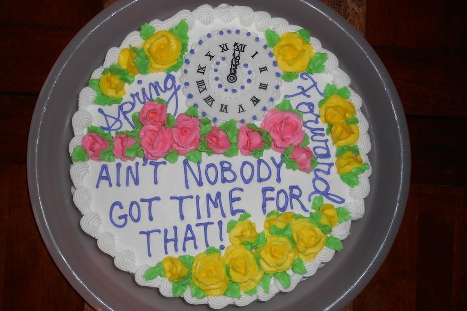 Spring Forward Cake
