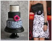 Handpainted Chalk Flowers & Ruffles