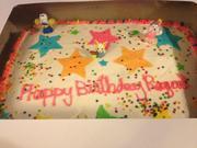 Raquel's birthday cake