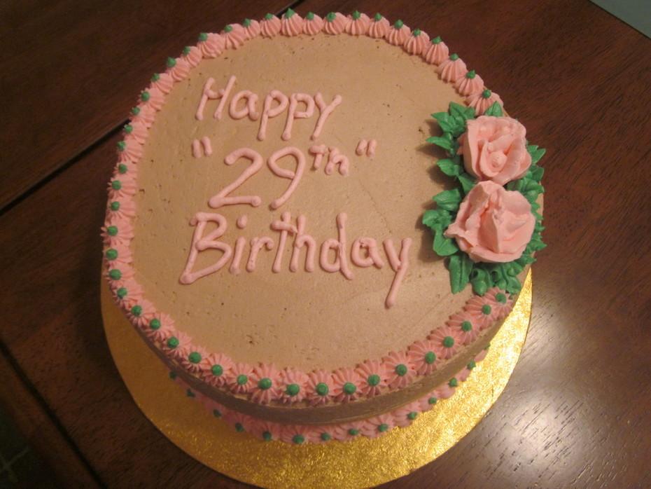 Fine Happy 29Th Birthday Cake Decorating Community Cakes We Bake Funny Birthday Cards Online Necthendildamsfinfo