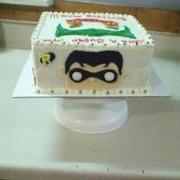 D.C. Comics pop heroes cake 2