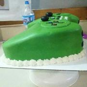PS3 controller/ lime green