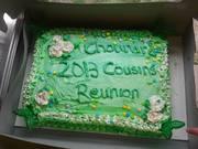 family reunion cake 2013 cake #2