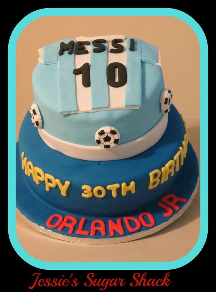 Stupendous Happy Birthday Orlando Jr Cake Decorating Community Cakes We Bake Birthday Cards Printable Trancafe Filternl