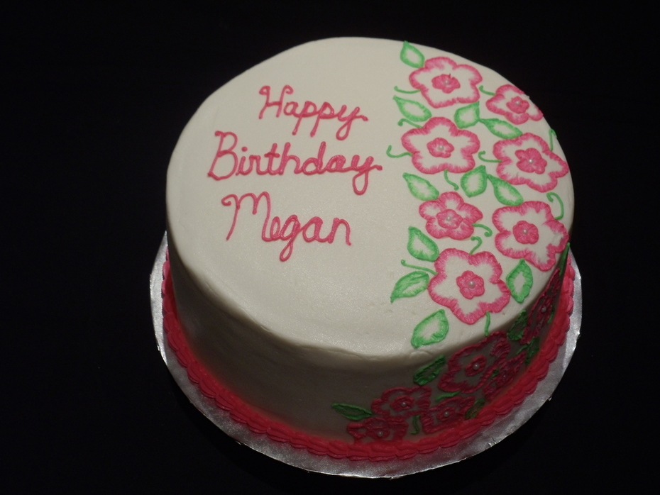 Megan's Birthday Cake