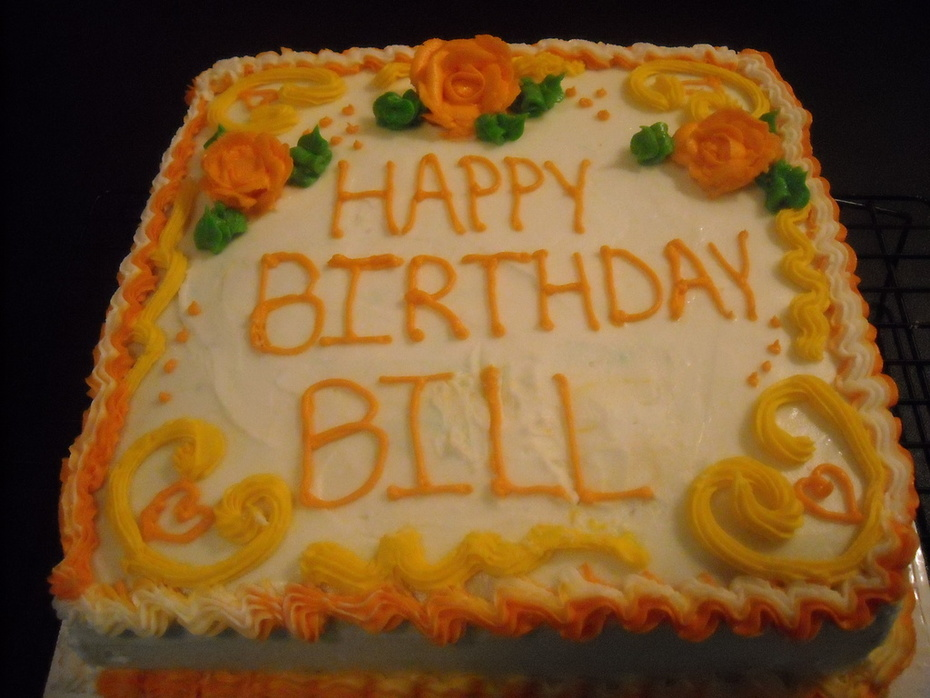 Bill's Birthday cake August 2013