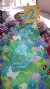 Waterfall Garden Cake
