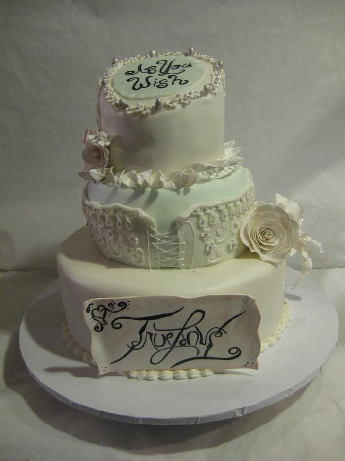 Princess Bride movie wedding cake