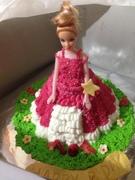 barbi doll cake