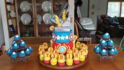 Avenger Birthday Cake
