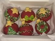 Xmas Ornament Cake Balls