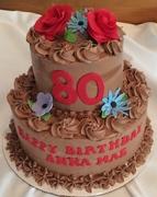 80th Birthday Cake - Gluten Free