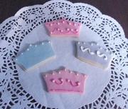 Crown Birthday cookies