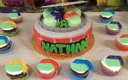 TMNT Cake (3)