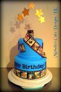 Film Strip Cake