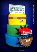 Hollis Retirement Cake