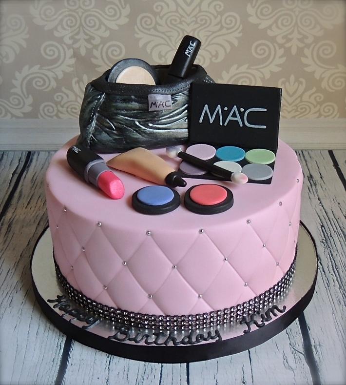 Mac Makeup Cake Fashion15F