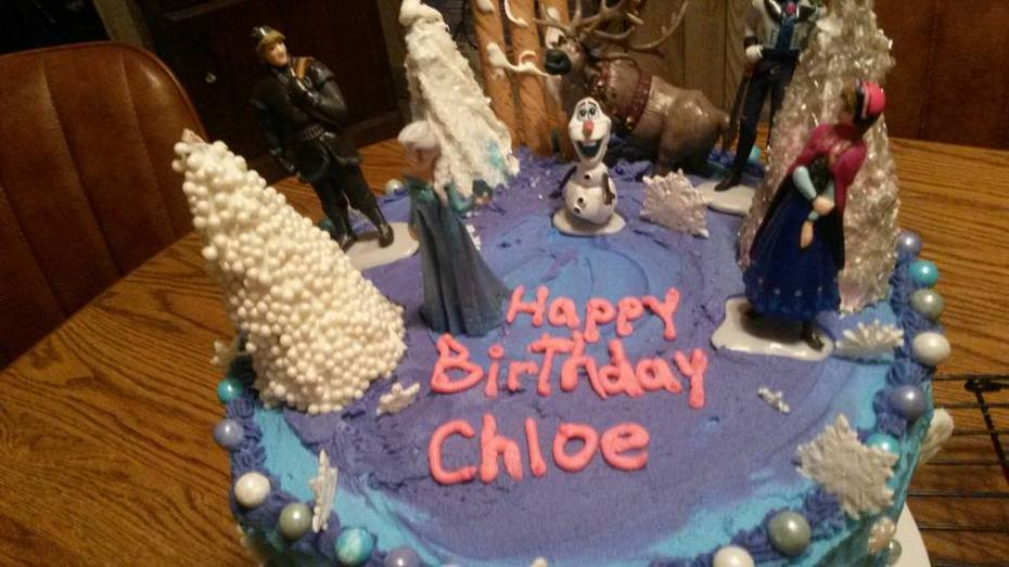 Chloes birthday cake Sept 2015 photo 2