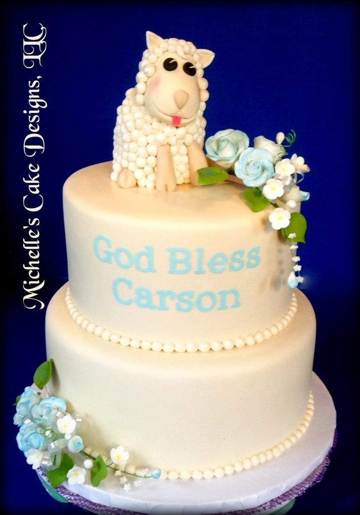 Lamb Christining Cake II