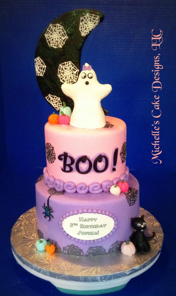 Haloween Ghost Cake 3