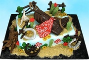 """Cowboy Bob's Bonanza"" Western Cake"